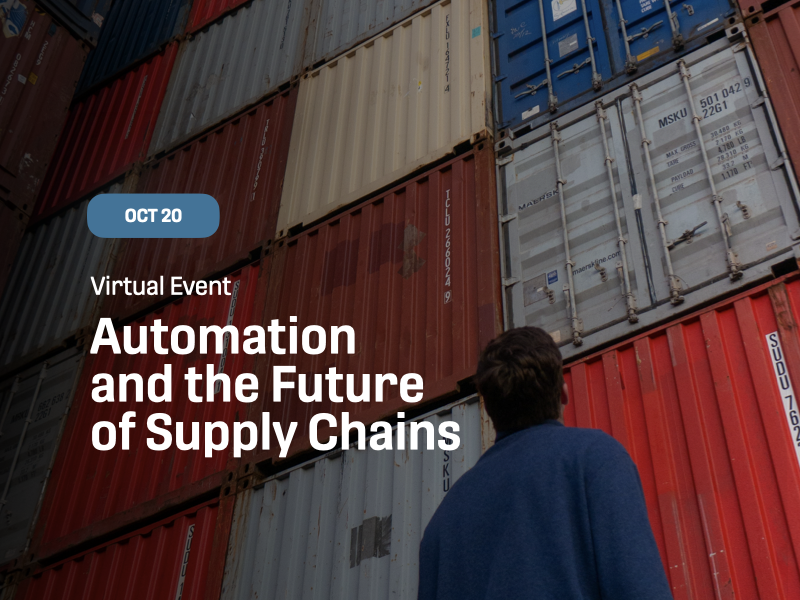 Automation and the Future of Supply Chains