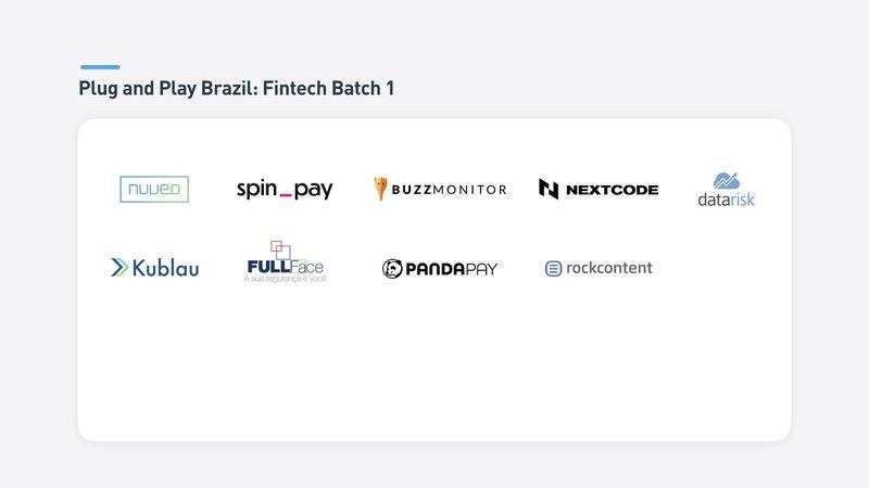 Brazil Batch 1 Fintech Startups