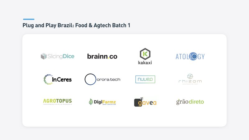 Brazil Batch 1 Food & Agtech Startups