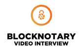 BlockNotary Video Interview Logo