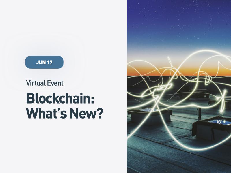 Blockchain: What's New?