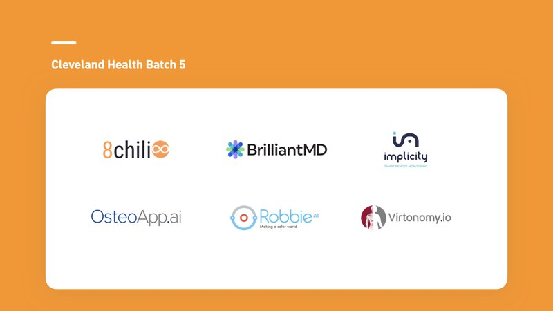 Cleveland Health Batch 5 Startup Image