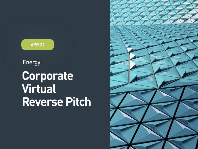 Energy: Corporate Virtual Reverse Pitch