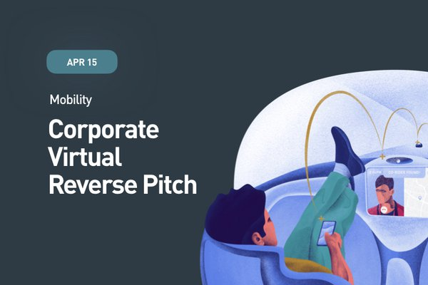 Corporate Virtual Reverse Pitch mobility