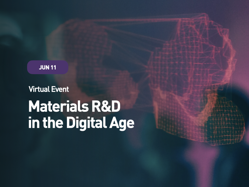 Materials R&D in the Digital Age