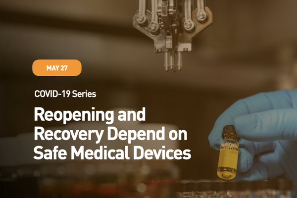 COVID-19 Series: Emergency Use Authorization - Safe Devices in a Pandemic