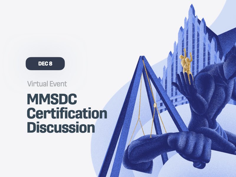 MMSDC Certification Discussion