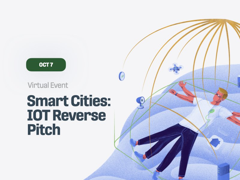 Smart Cities: Iot and REC Reverse Pitch
