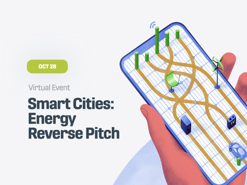 Smart Cities: Energy Reverse Pitch