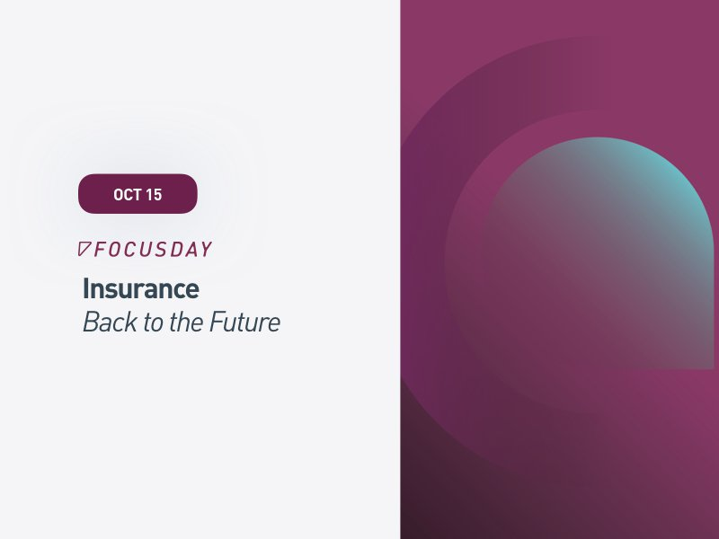 Insurtech Focus Day: Insurance Back to the Future