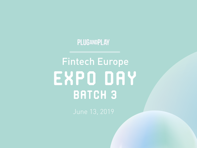 EXPO DAY Batch 3 - Fintech Europe
