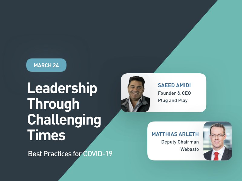 Leadership Through Challenging Times: Best Practices for COVID-19