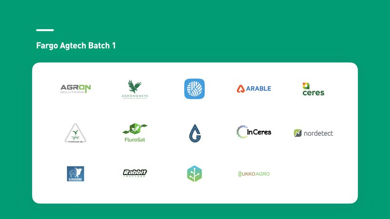 Fargo Batch 1 Startup Slide 2
