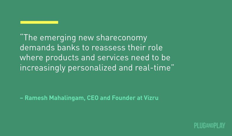 Ramesh Mahalingam Plug and Play Fintech Quote