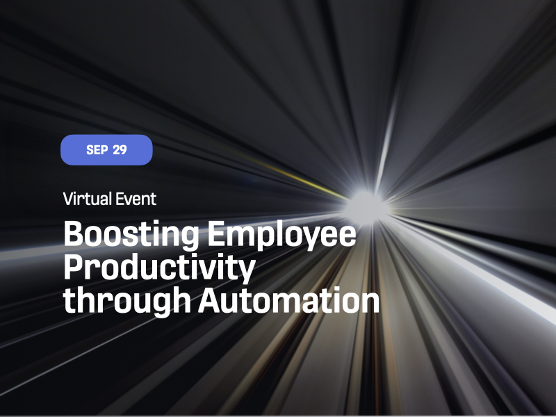 Boosting Employee Productivity through Automation
