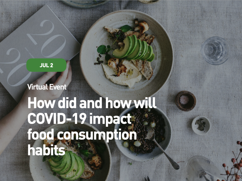 How did and how will COVID-19 impact food consumption habits