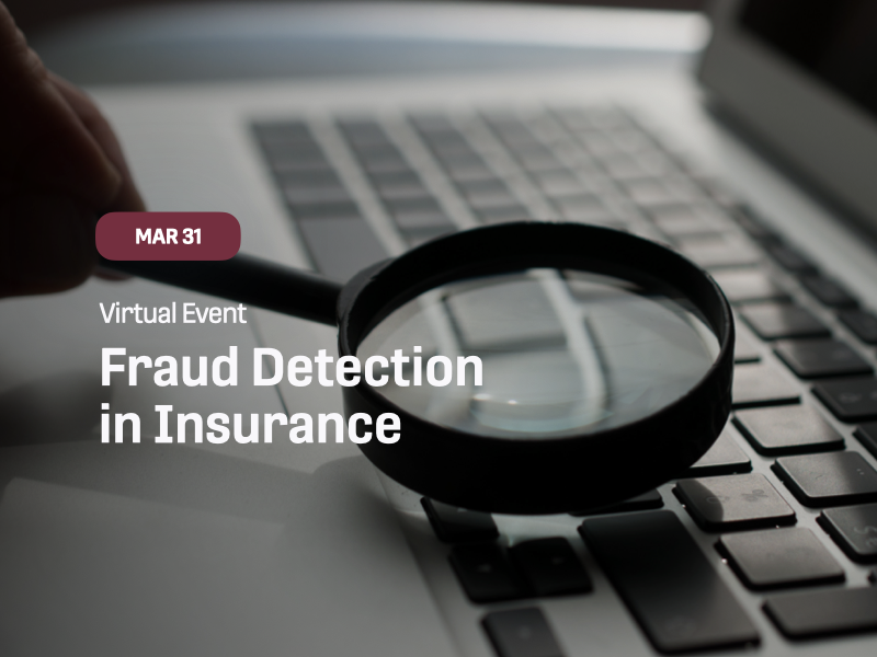 Fraud Detection in Insurance