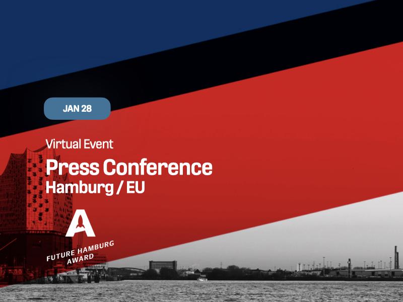 Future Hamburg Award Press Conference Hamburg / EU
