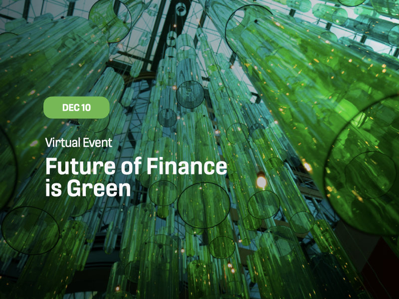 Future of Finance is Green