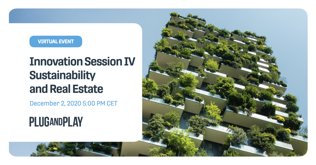 Innovation Session IV: Sustainability and Real Estate