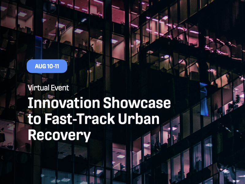 Innovation Showcase to Fast-Track Urban Recovery