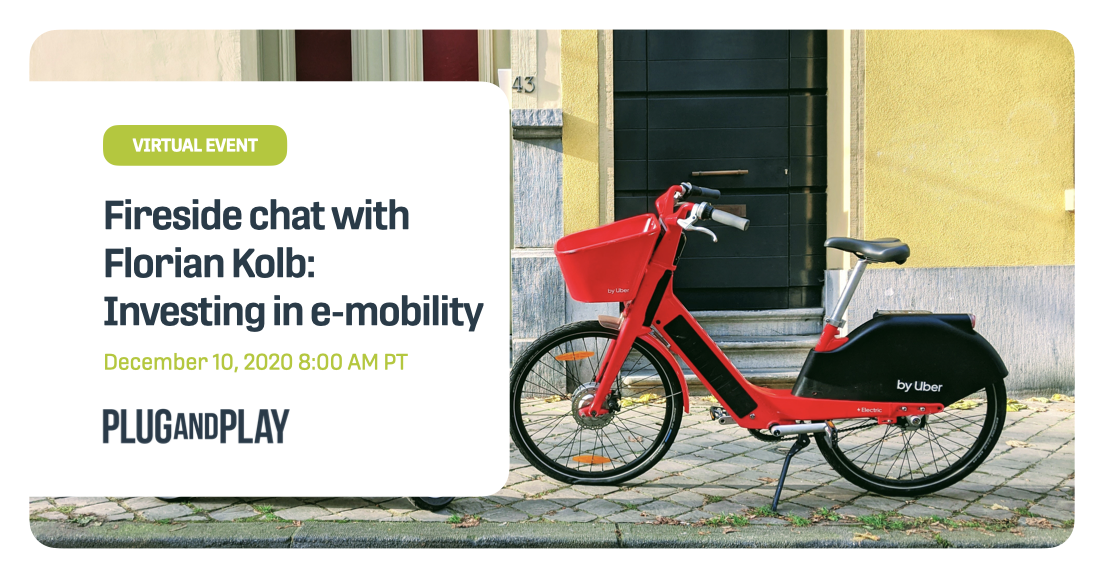 Fireside chat with Florian Kolb: Investing in e-mobility