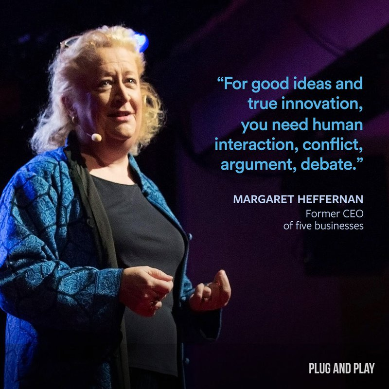 Margaret Heffernan Plug and Play female entrepreneur