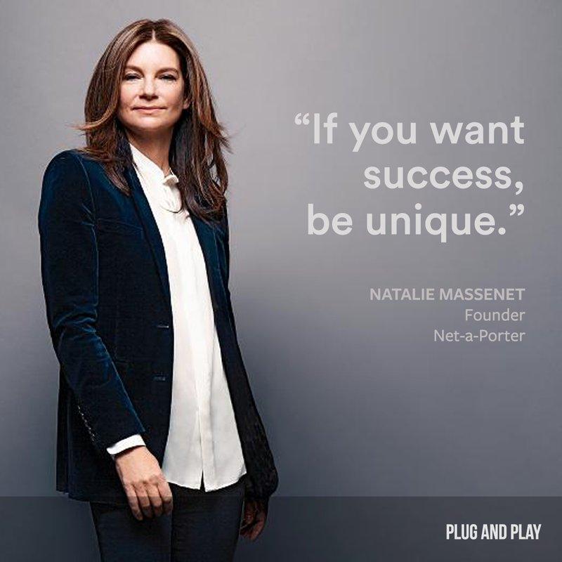 Natalie Massenet Plug and Play female entrepreneur