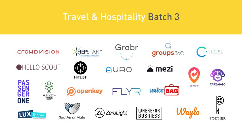 Travel Hospitality Batch 3 Startups