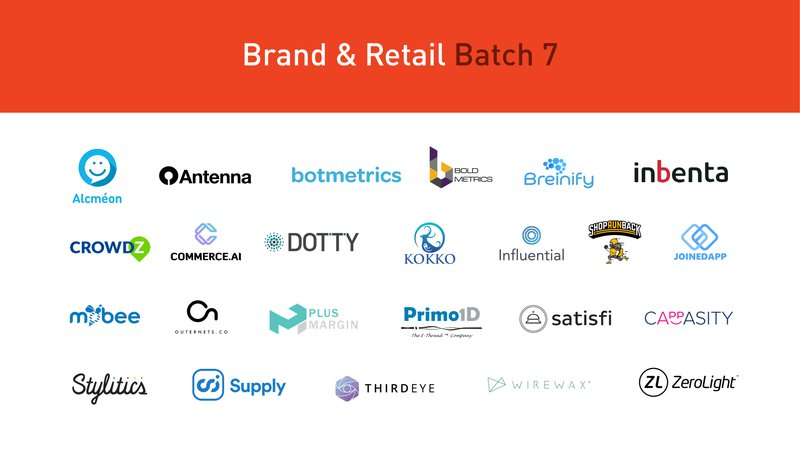 Brand Retail Batch 7 Startups