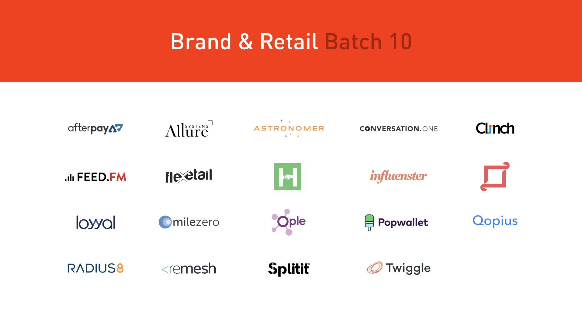 plug and play retail startups