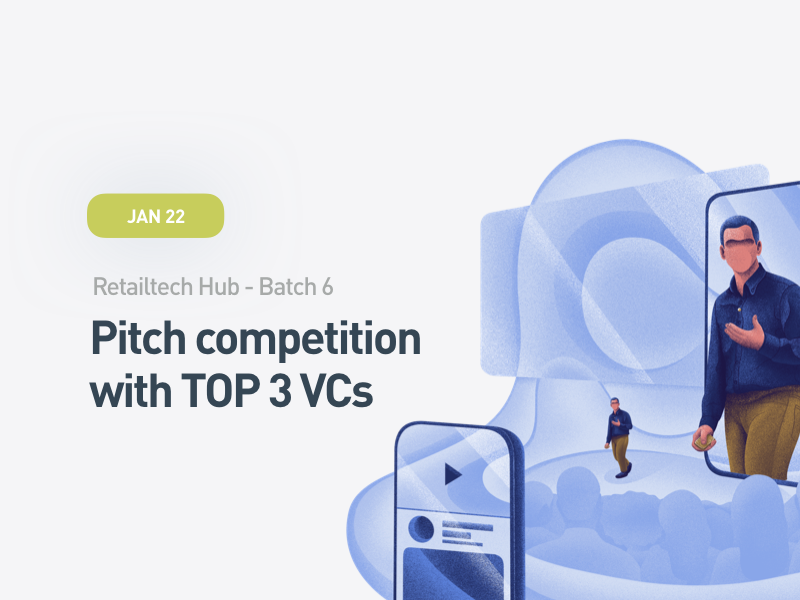 Pitch Competition with TOP 3 VCs