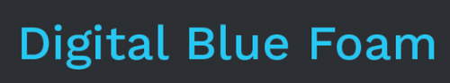 Digital Blue Foam Logo