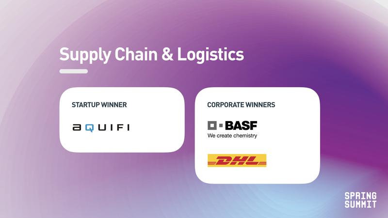Spring Summit - supply chain winner