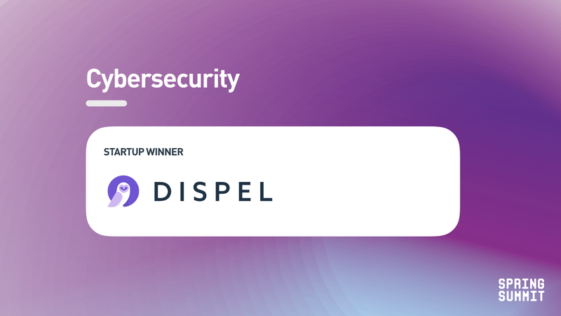 Spring Summit - cybersecurity winner