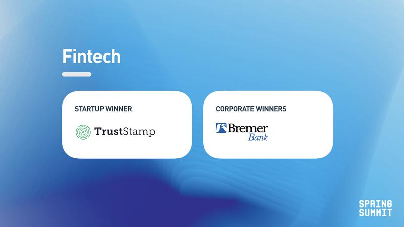 Spring Summit - fintech winner