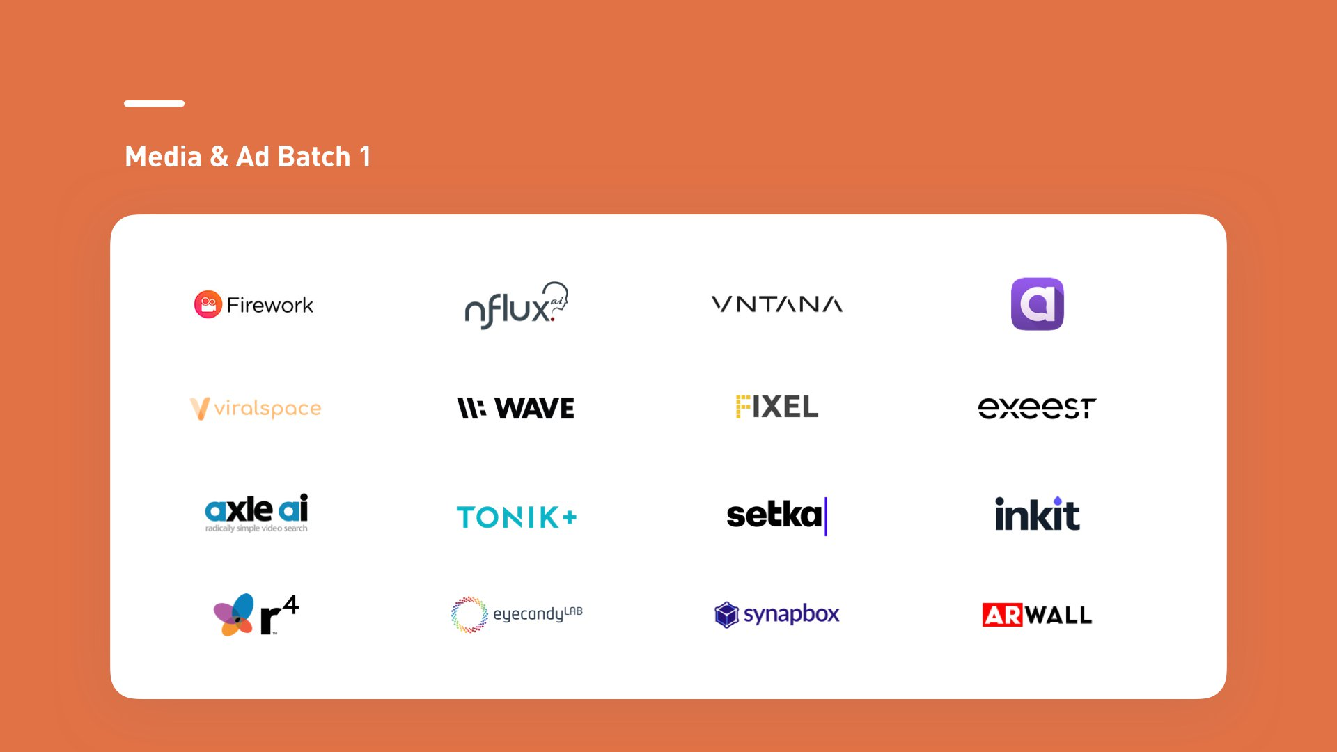 Plug and Play Media & Ad startups