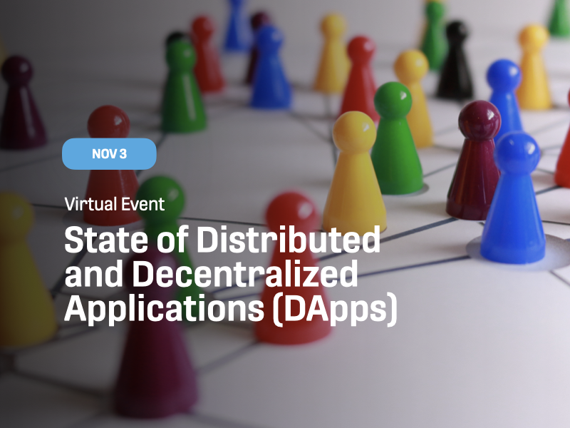 State of Distributed and Decentralized Applications (DApps)