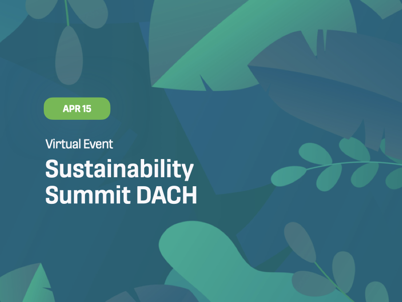 Sustainability Summit DACH