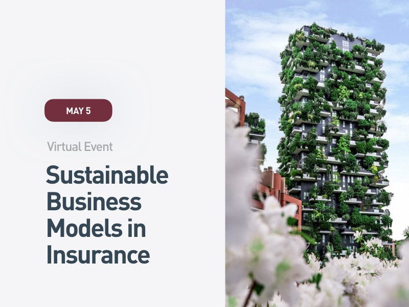 Sustainable Business Models in Insurance: Resilience & Prevention