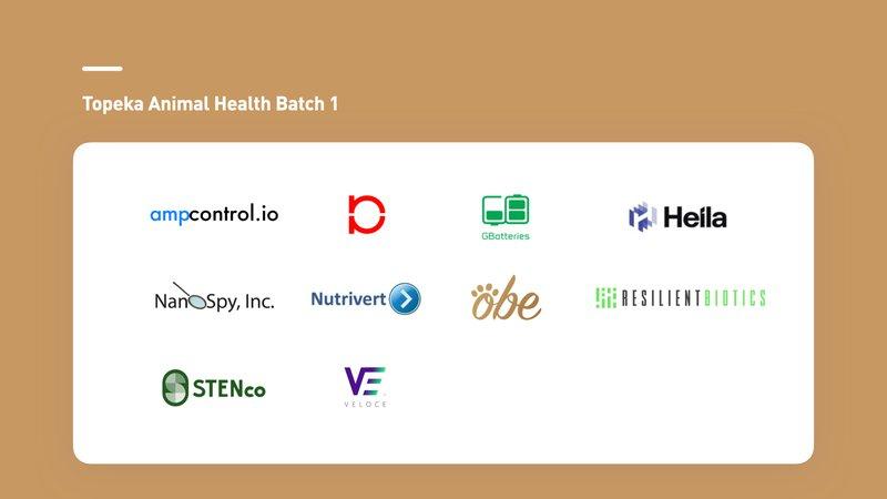 Topeka Animal Health Batch 1 Startups.jpeg