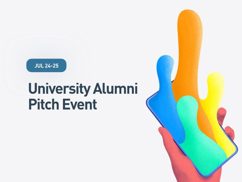 University Alumni Pitch Event