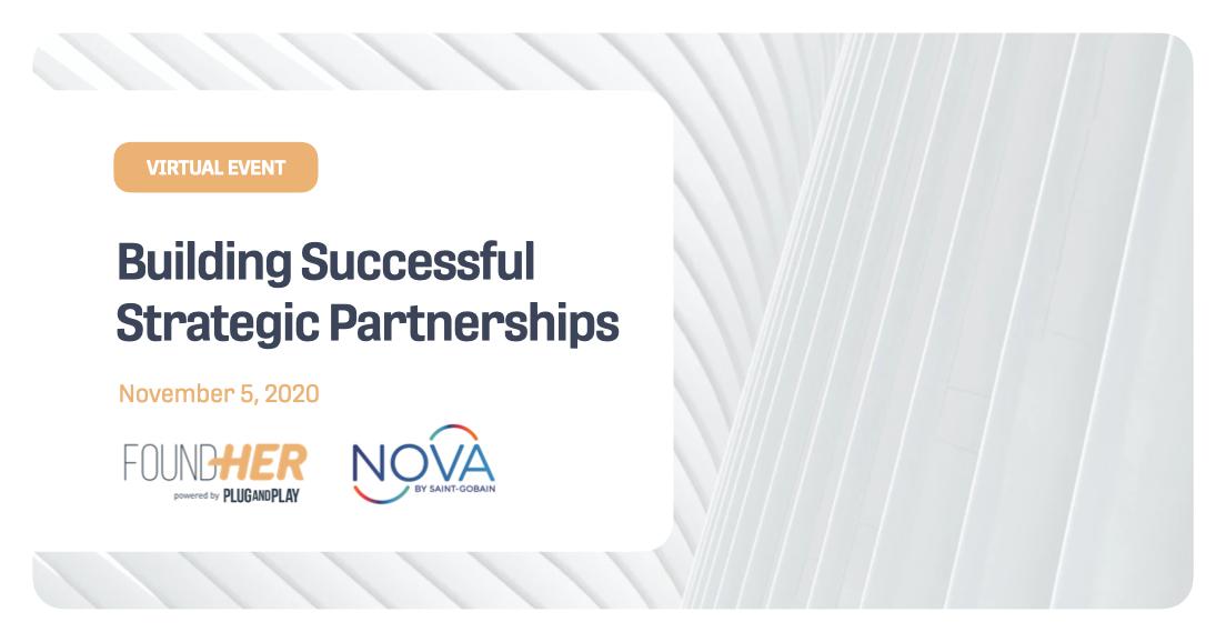 Building Successful Strategic Partnerships