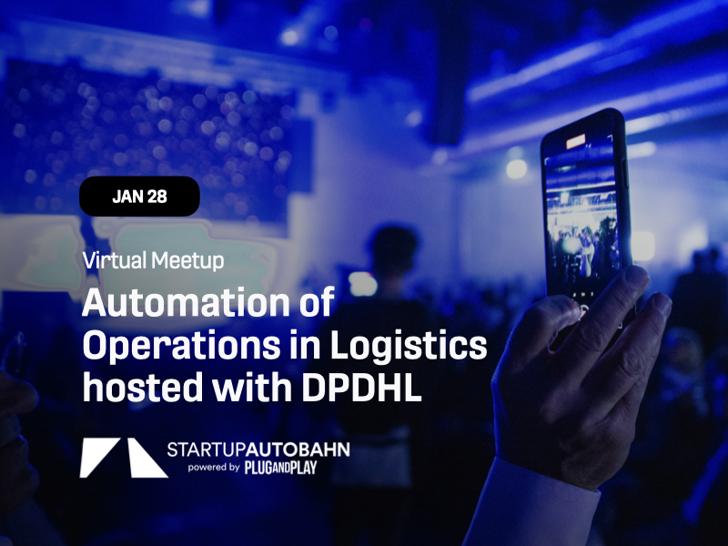 Automation of Operations in Logistics hosted with DPDHL
