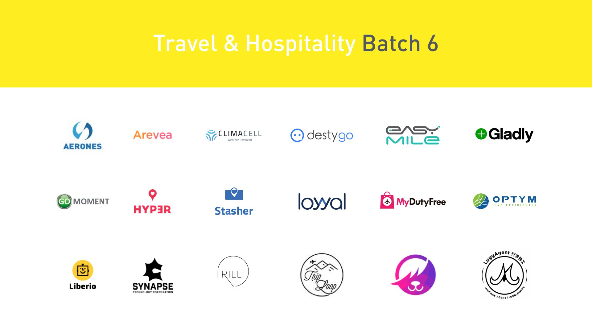 Plug and Play Travel & Hospitality Startups