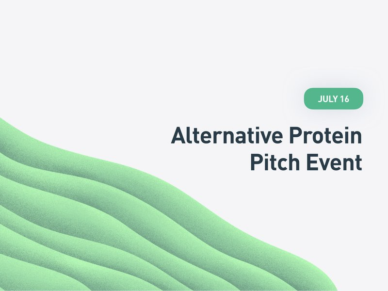 Alternative Protein Pitch Event