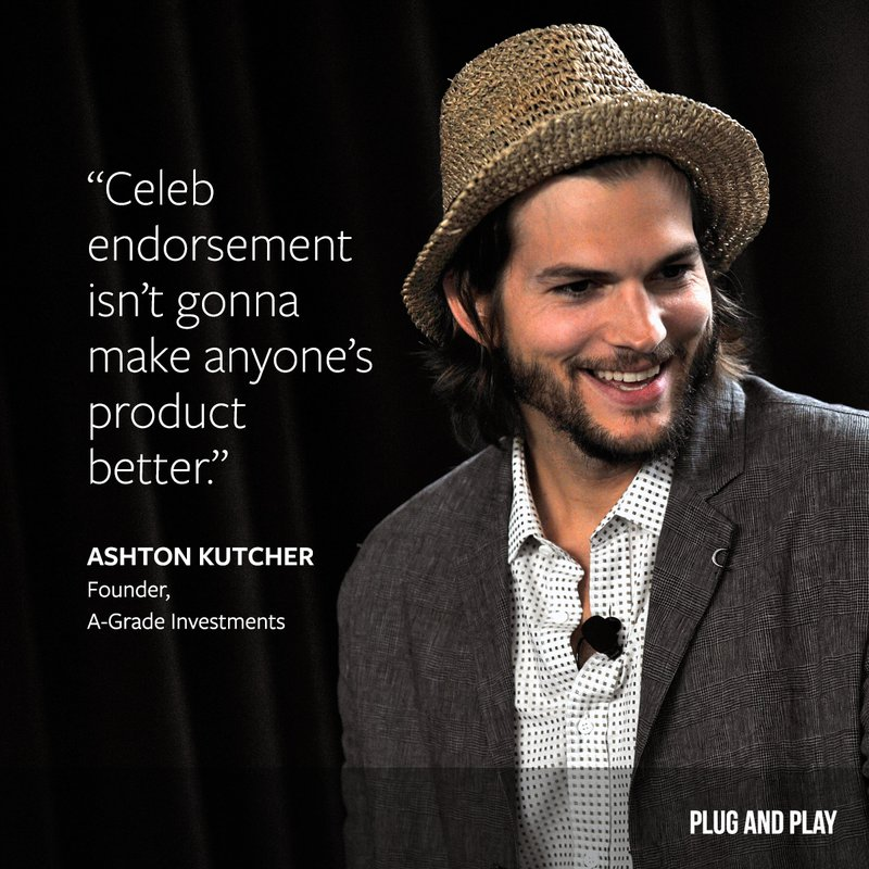 ashton kutcher entrepreneur quote
