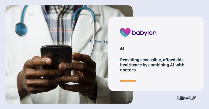 digital twins healthcare startups babylon health