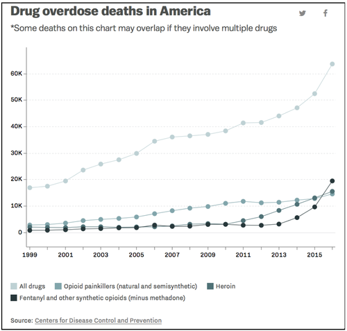 drug overdose deaths in america