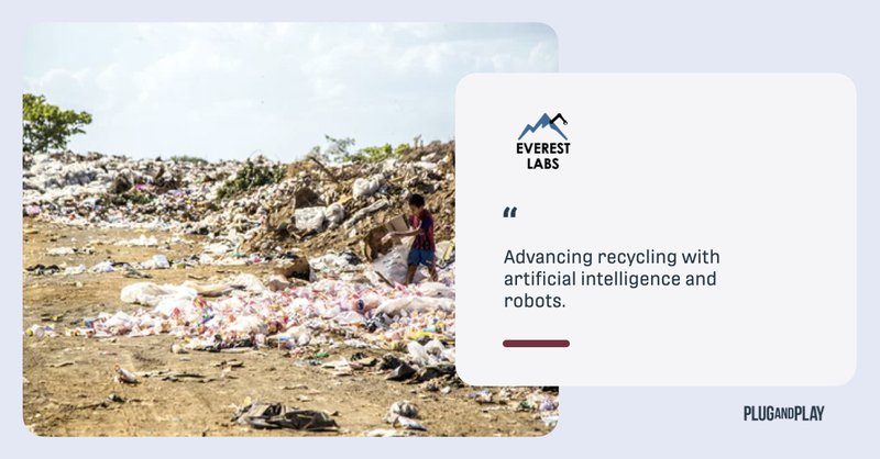 everest labs ai - machine learning and robotics in plastic sorting